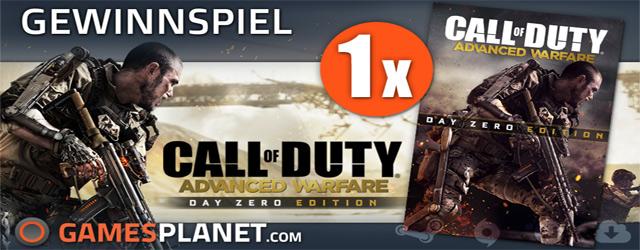 Bild von Gewinnspiel mit Gamesplanet – Call of Duty: Advanced Warfare Day One Edition