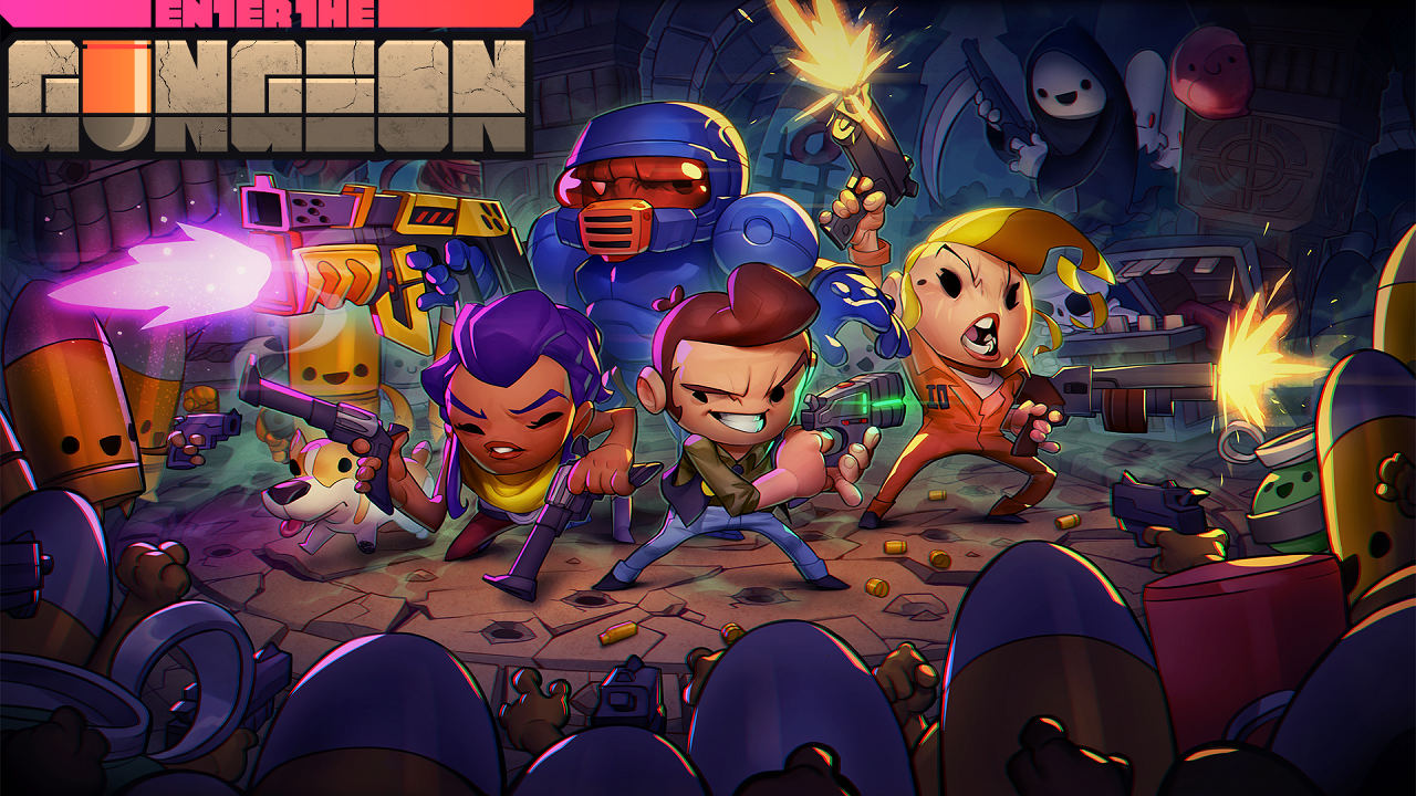 Bild von Enter the Gungeon – Release-Termin für Nintendo Switch