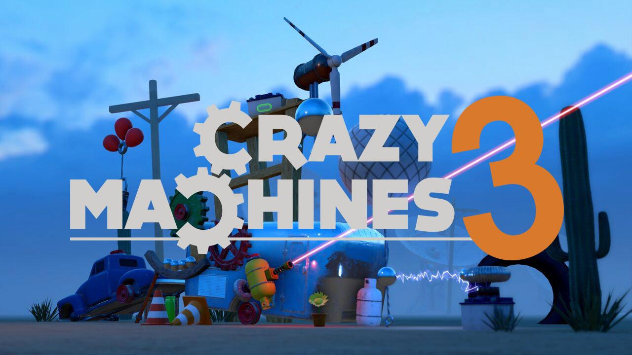 Bild von Crazy Machines 3 – Anmeldungen für Closed-beta geöffnet