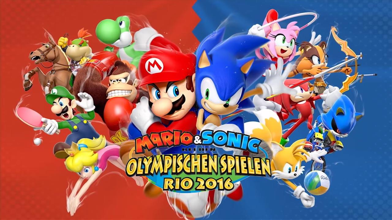 Mario Amp Sonic Bei Den Olympischen Spielen Rio 2016