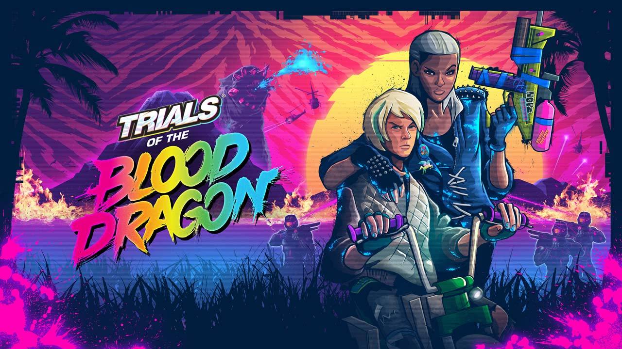 Bild von Trials of the Blood Dragon – Launch-Trailer