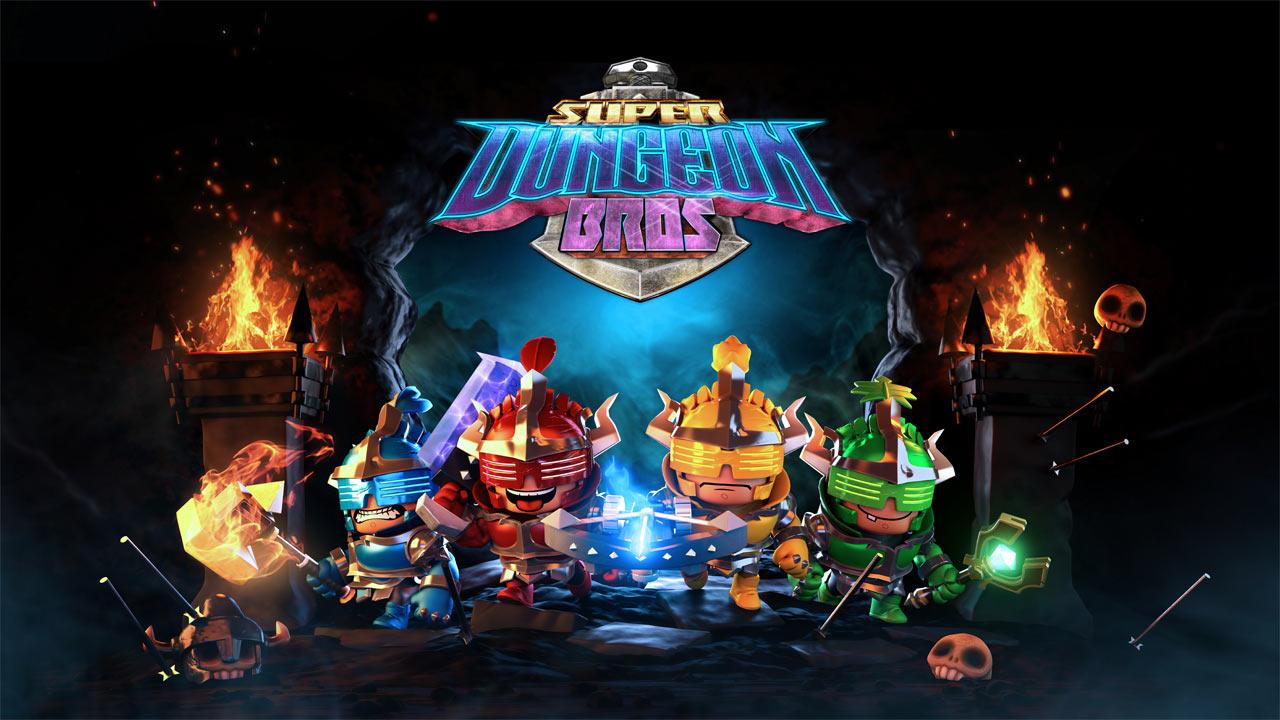 Photo of Super Dungeon Bros – Launch-Trailer des Koop-Dungeon-Brawler