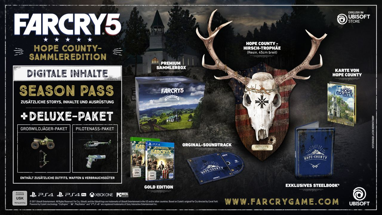 Far Cry 5 - Hope County-Sammleredition