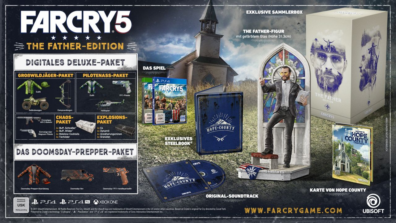 Far Cry 5 - The Father-Sammleredition