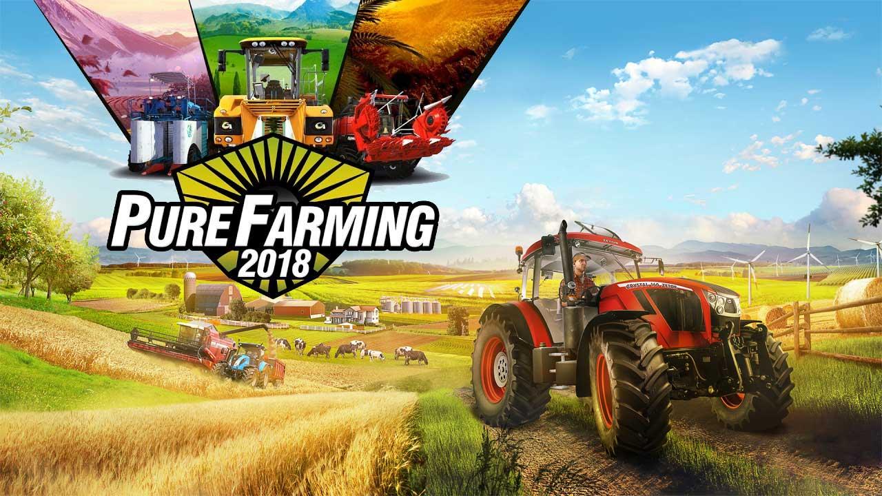 Photo of Pure Farming 2018 – Launch-Trailer und Infos über die Zukunft