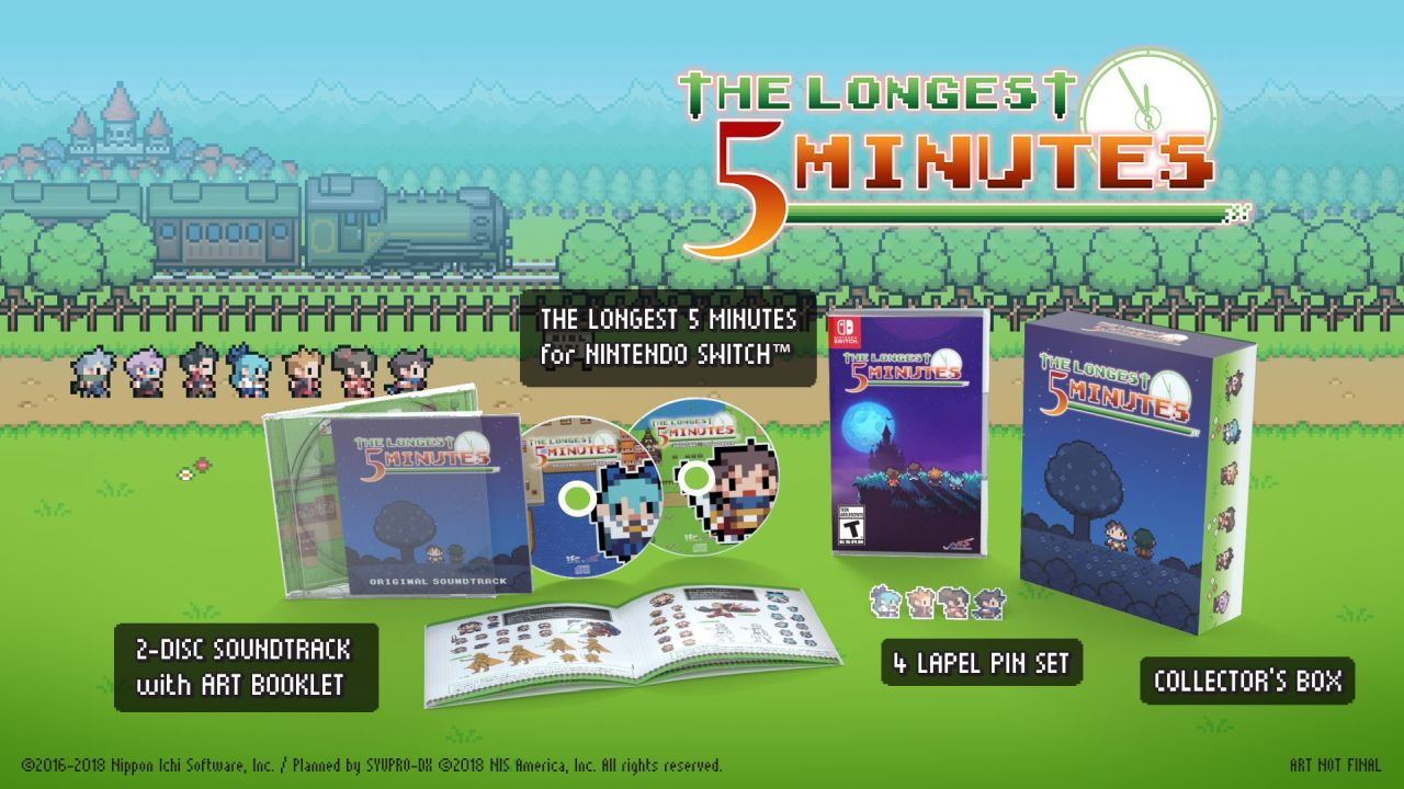 The Longest Five Minutes Limited Edition