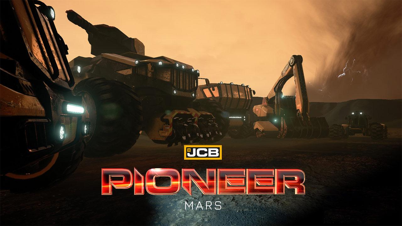 Bild von JCB Pioneer: Mars – Termin für Early Access bekannt, Video zu den Fahrzeugen