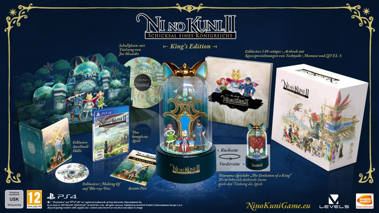 Ni No Kuni II Kings Edition
