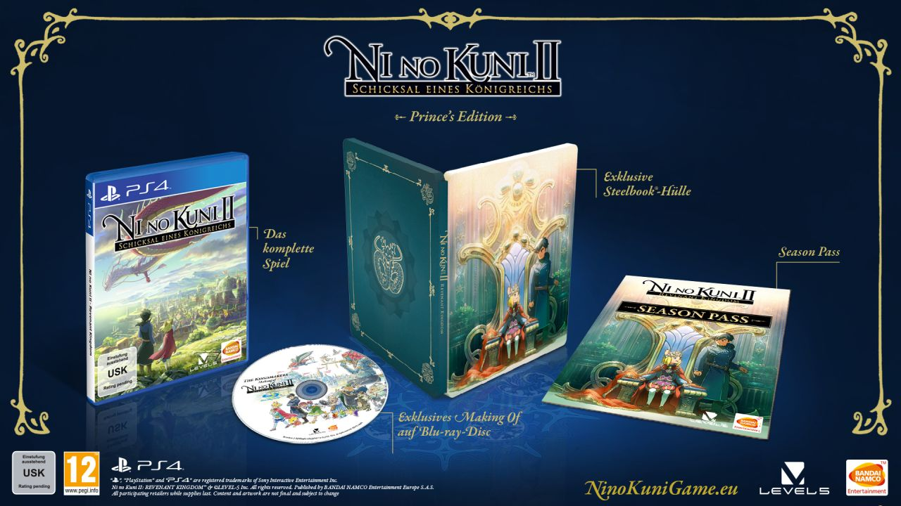 Ni No Kuni II Princes Edition