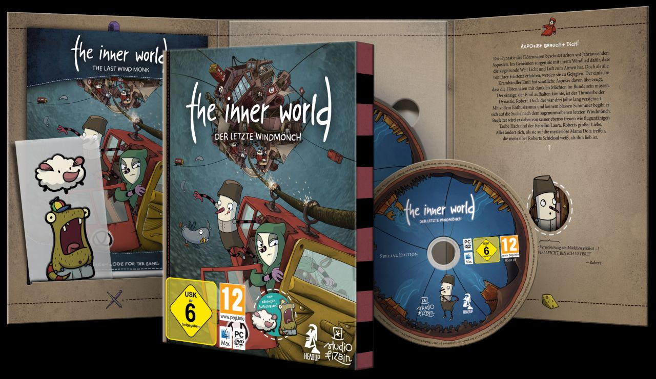 The Innner World: Der letzte Windmönch PC Box-Version