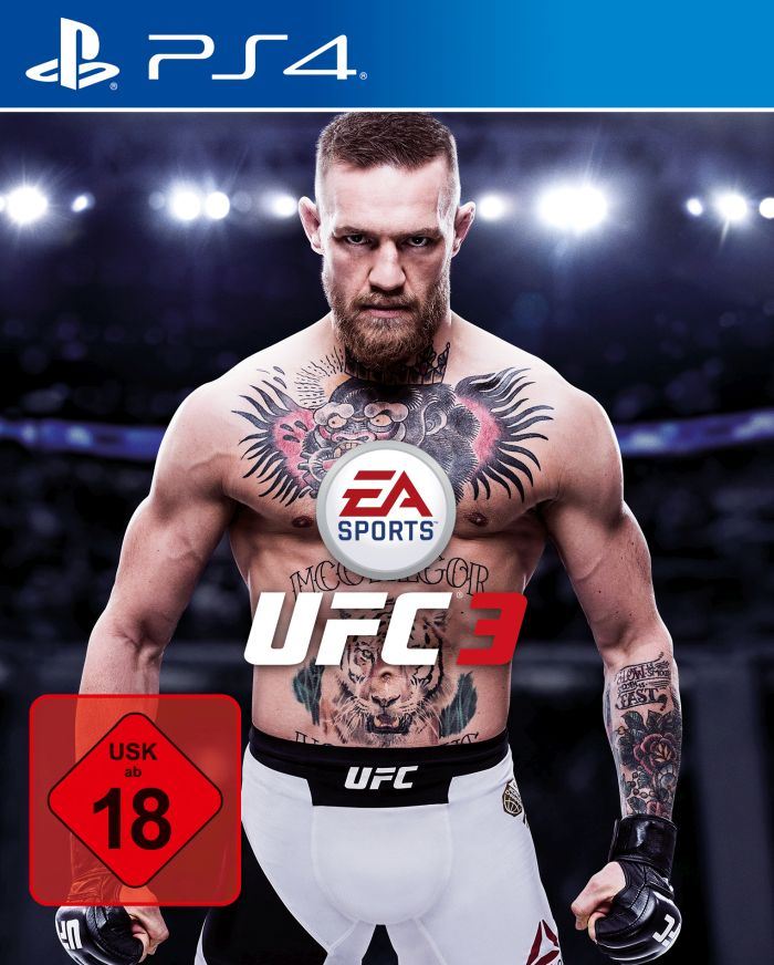 EA Sports UFC 3 - Cover-Star Connor McGregor