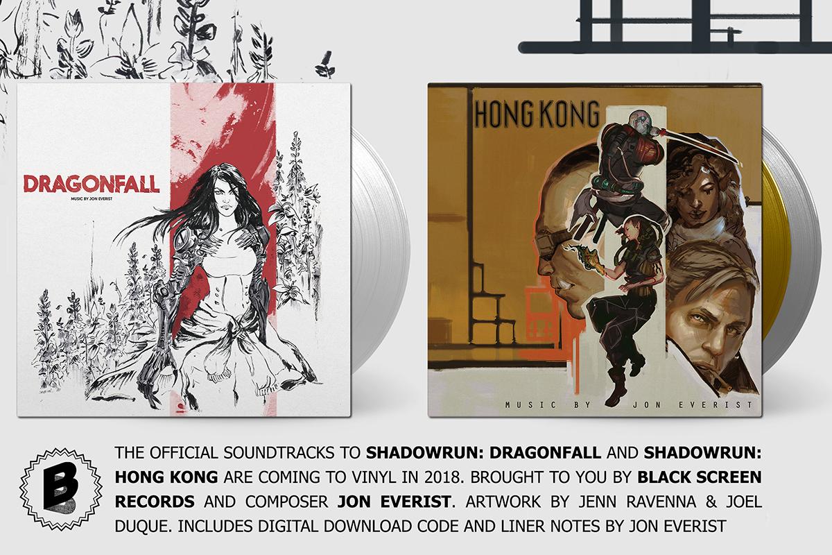 Shadowrun Soundtracks Erscheinen 252 Ber Black Screen