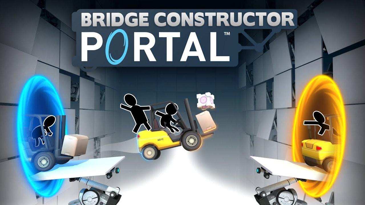 Bild von Bridge Constructor Portal – Gameplay-Trailer zum heutigen Release