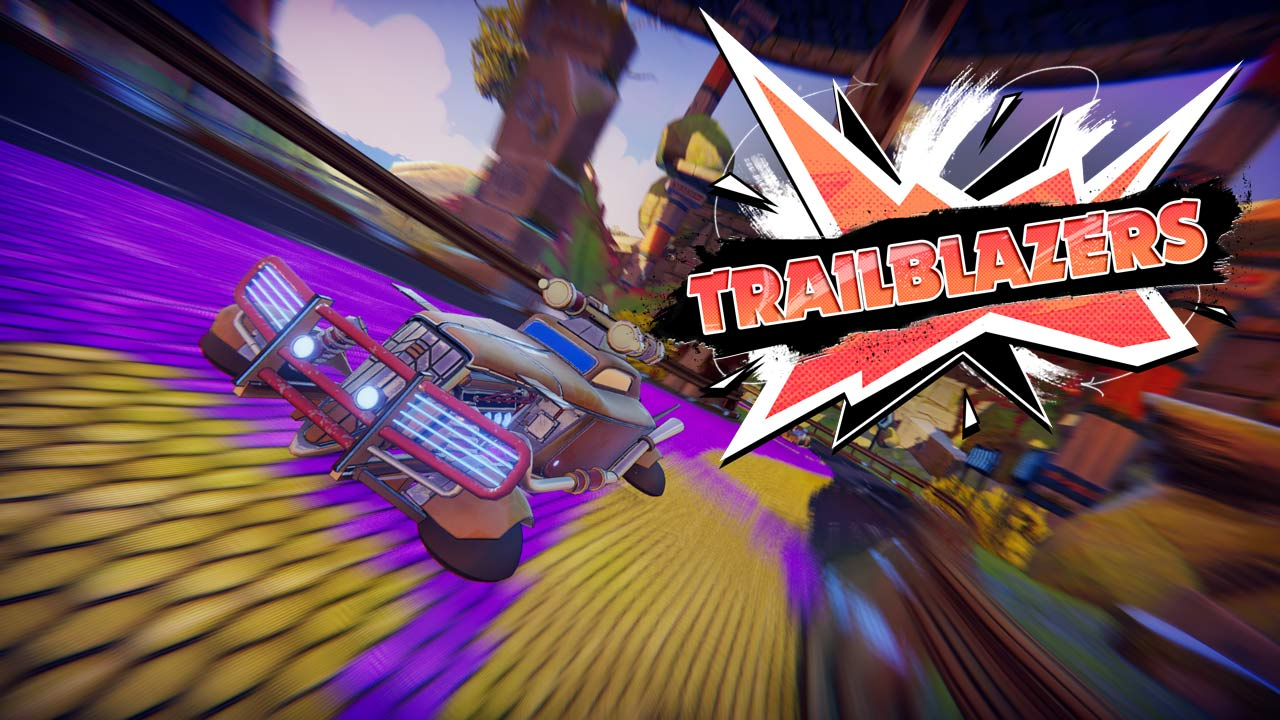 Bild von Trailblazers – Gameplay-Trailer des Coop-Arcade-Racers