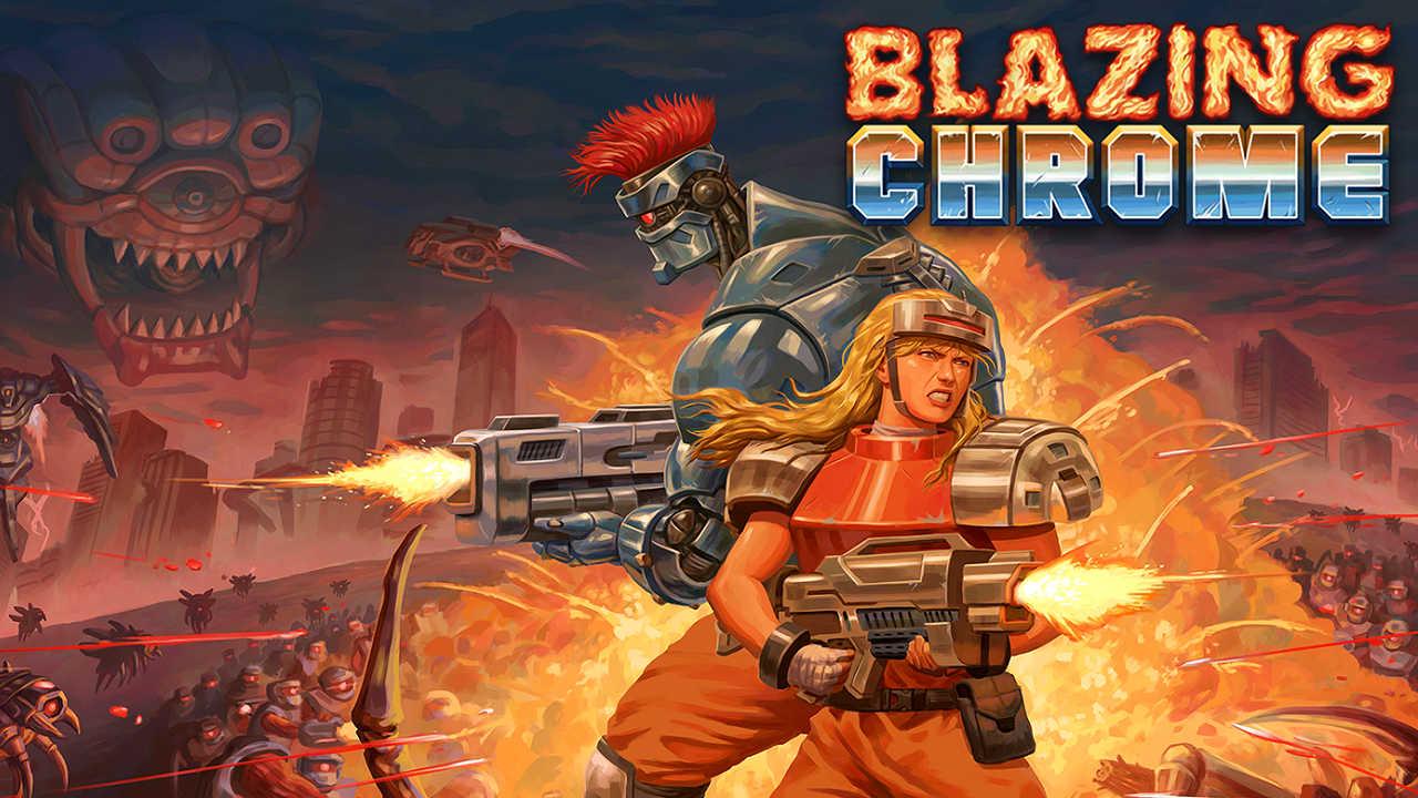 Photo of Blazing Chrome – Release-Plattformen bekannt, neuer Trailer