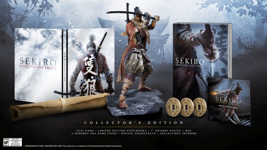 Sekiro: Shadows Die Twice - Collectors Edition