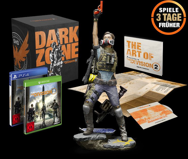 The Division 2 Dark Zone Collectors Edition