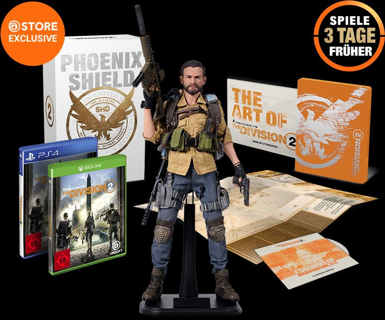 The Division 2 Phoenix Shield Collectors Edition