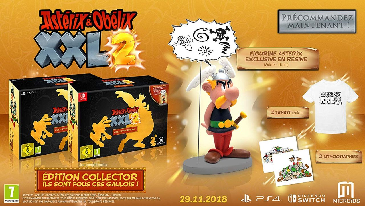 Asterix & Obelix XXL2 - Collector's Edition