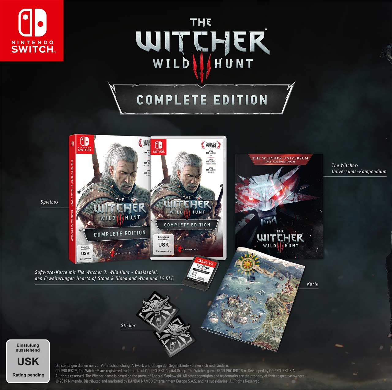 The-Witcher 3 Complete Edition Nintendo Switch