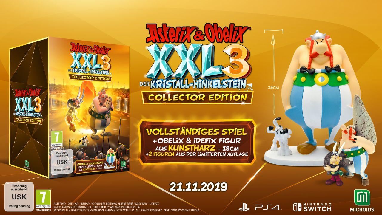 Asterix & Obelix XXL3: Der Kristall-Hinkelstein Collector's Edition