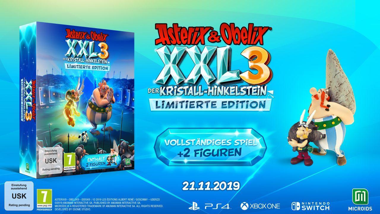 Asterix & Obelix XXL3: Der Kristall-Hinkelstein