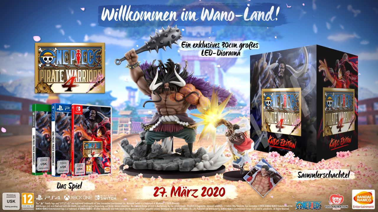 One Piece: Pirate Warriors 4 Kaido Edition
