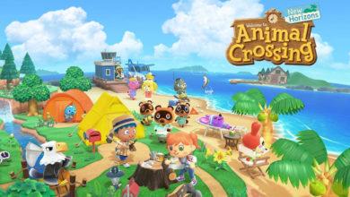 Bild von Nintendo Switch – Konsole im Animal Crossing: New Horizons-Design angekündigt