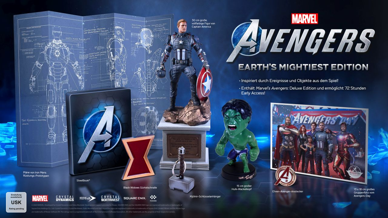 Marvel's Avengers - Earth Mightiest Edition