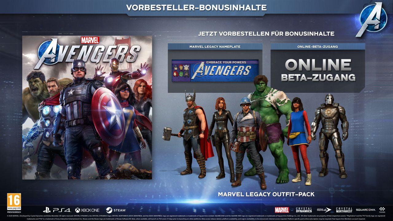 Marvel's Avengers - Preorder Bonus