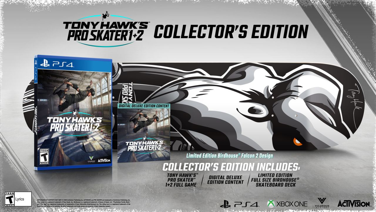 Tony Hawk's Pro Skater 1 + 2 - Collector's Edition