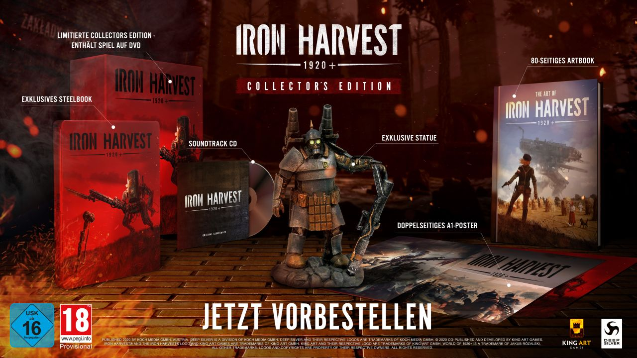 Iron Harvest – Collector's Edition