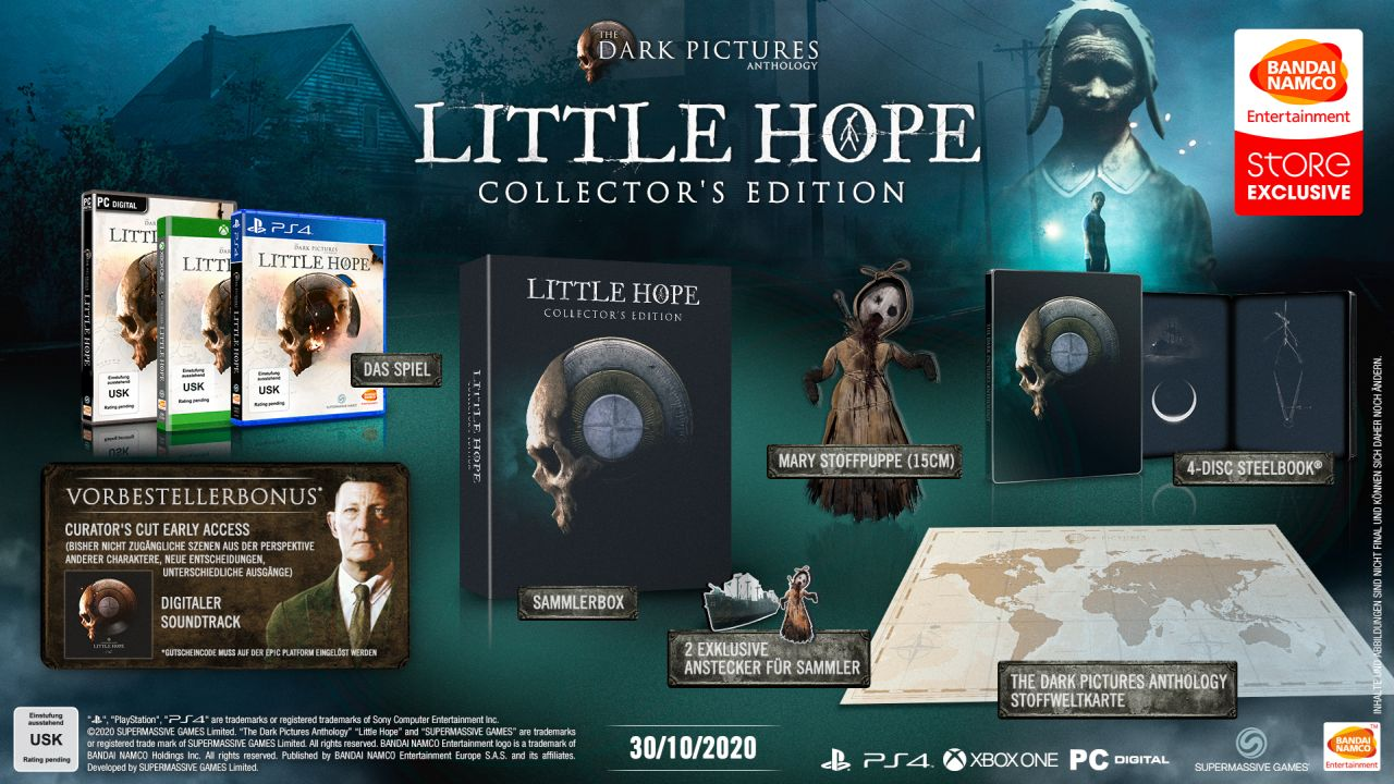 The Dark Pictures Anthology: Little Hope - Collectors Edition