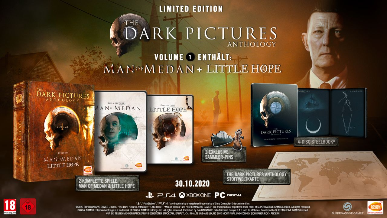The Dark Pictures Anthology: Little Hope - Limited Edition