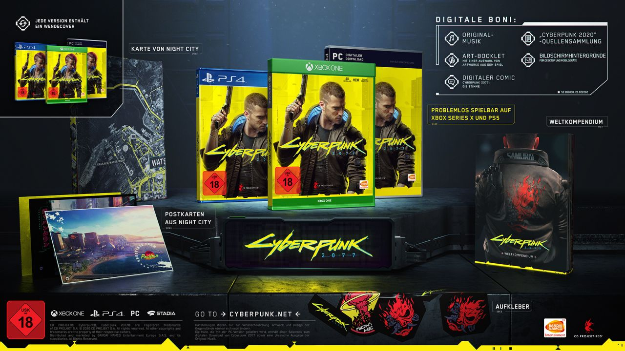 Cyberpunk 2077 - Limitierte Erstauflage