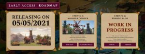Distant Kingdoms - Early Access Roadmap
